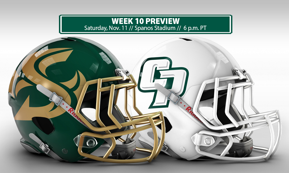 FOOTBALL HEADS TO CAL POLY FOR FINAL ROAD GAME THIS SATURDAY