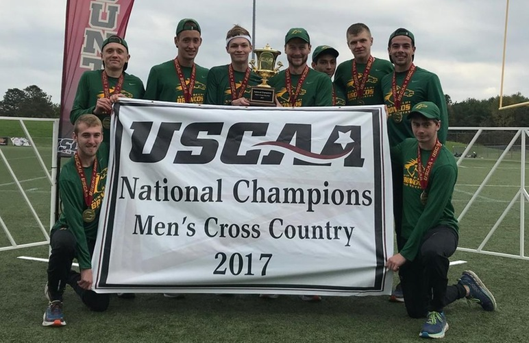 Men Repeat as USCAA National Champs; Lane Places First, Broncos Take Top Four