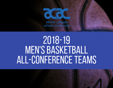 Presenting the 2018-19 ACAC Men's Basketball All-Conference Teams