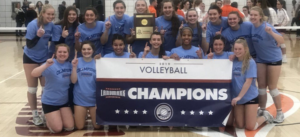 39 Straight, Eagles Sweep River Hawks to Win Landmark Championship