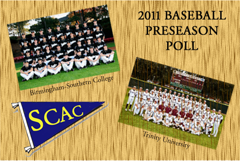 Trinity Named Preseason Favorite To Win 2011 SCAC Baseball Championship