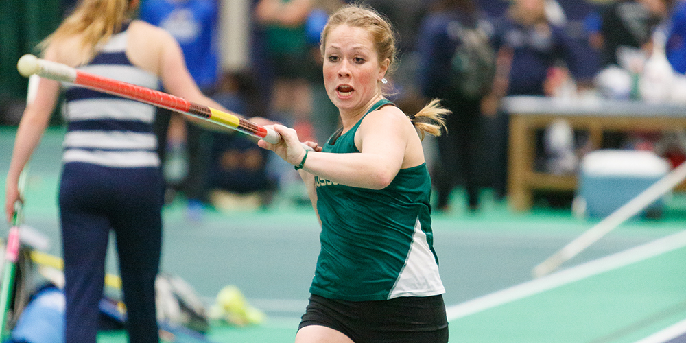 Women's Indoor Track & Field Take Home Third at Bates Invitational