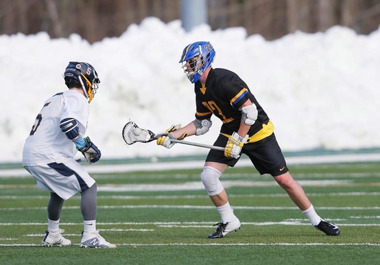 MEN'S LACROSSE FALLS TO RIVIER ON THE ROAD, 11-5