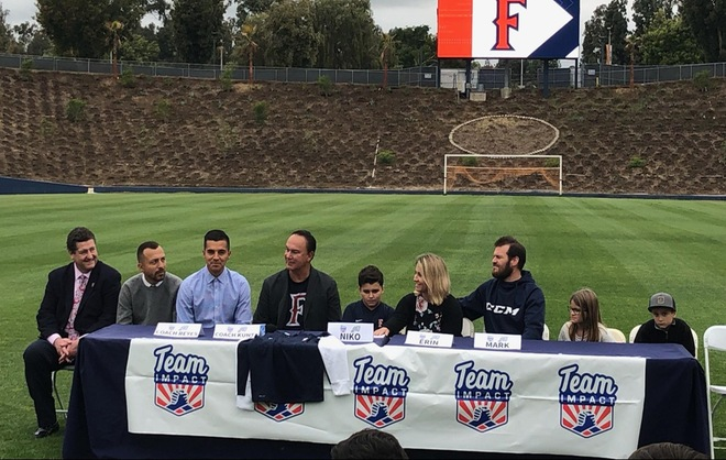 Men's Soccer Signs Eleven Year-Old Niko Greco