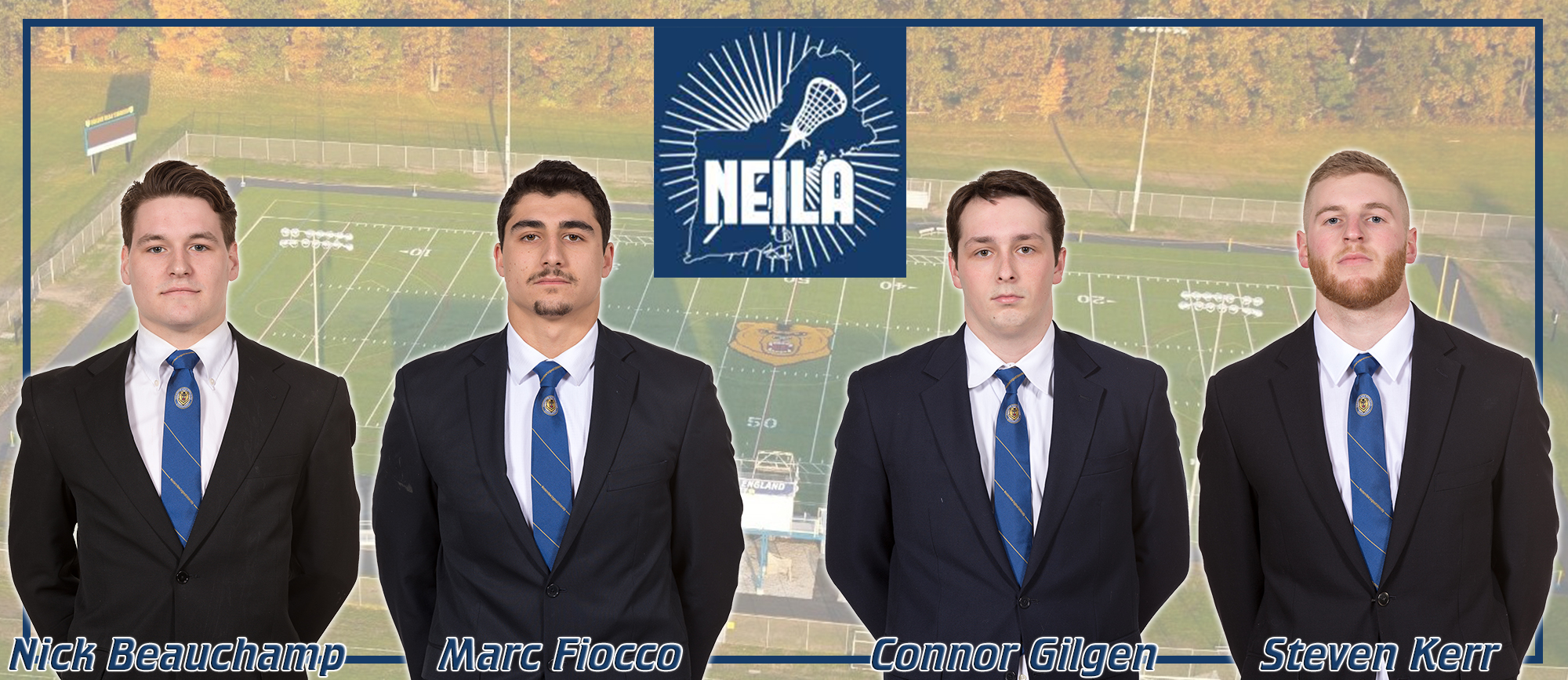 Four Golden Bears Selected to Compete in NEILA East-West Senior All-Star Game