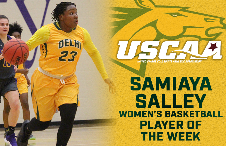 Samiaya Salley Receives First Career USCAA Player of the Week Award