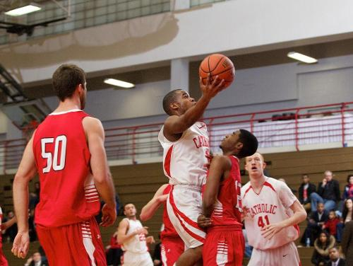 Cardinals Fall in First Round of CUA-Holiday Inn College Park Classic, 62-56