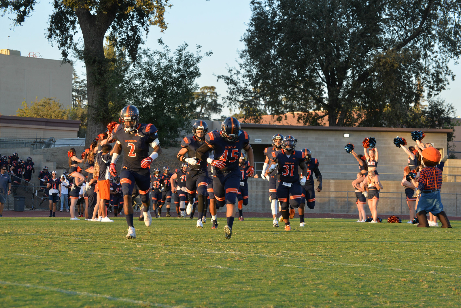 COS Football vs. Feather River Game Notes