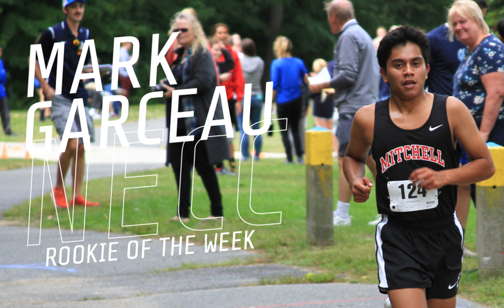 XC's Garceau Grabs Fourth NECC Rookie of the Week Honor
