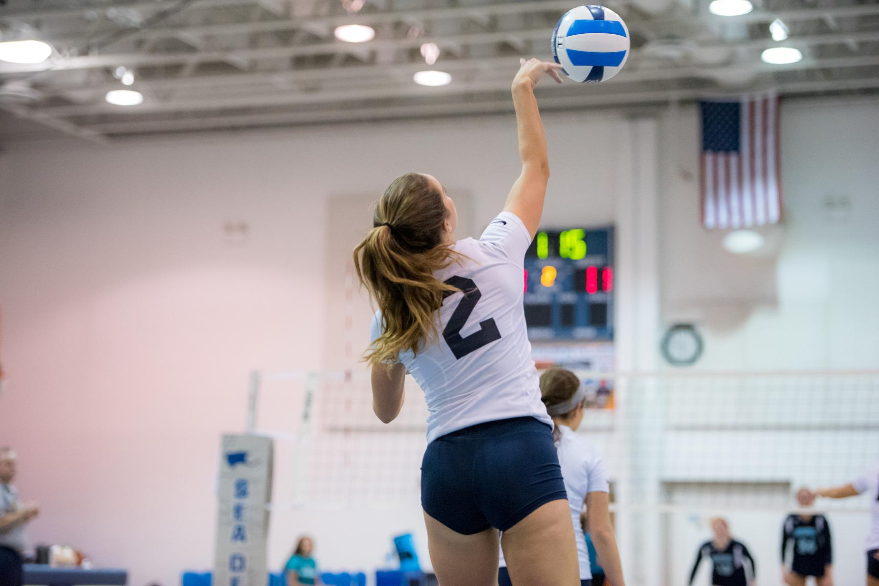 Servin' It Up: Setter Faryn Salazar Commits to Keiser University