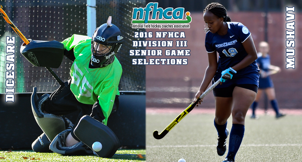 Field Hockey Duo Selected to Play in NFHCA Division III Senior Game