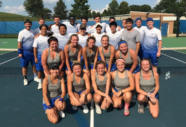 Men's and Women's Tennis Come Out On Top Over Shawnee State