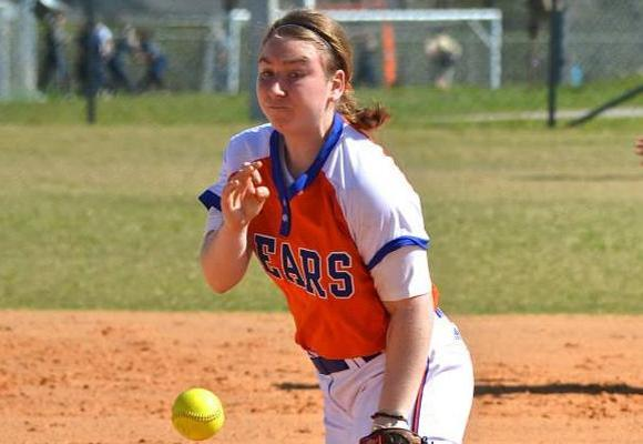 Softball Swept by Clark