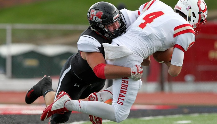 Ousley named D3football.com 2nd Team All-North Region