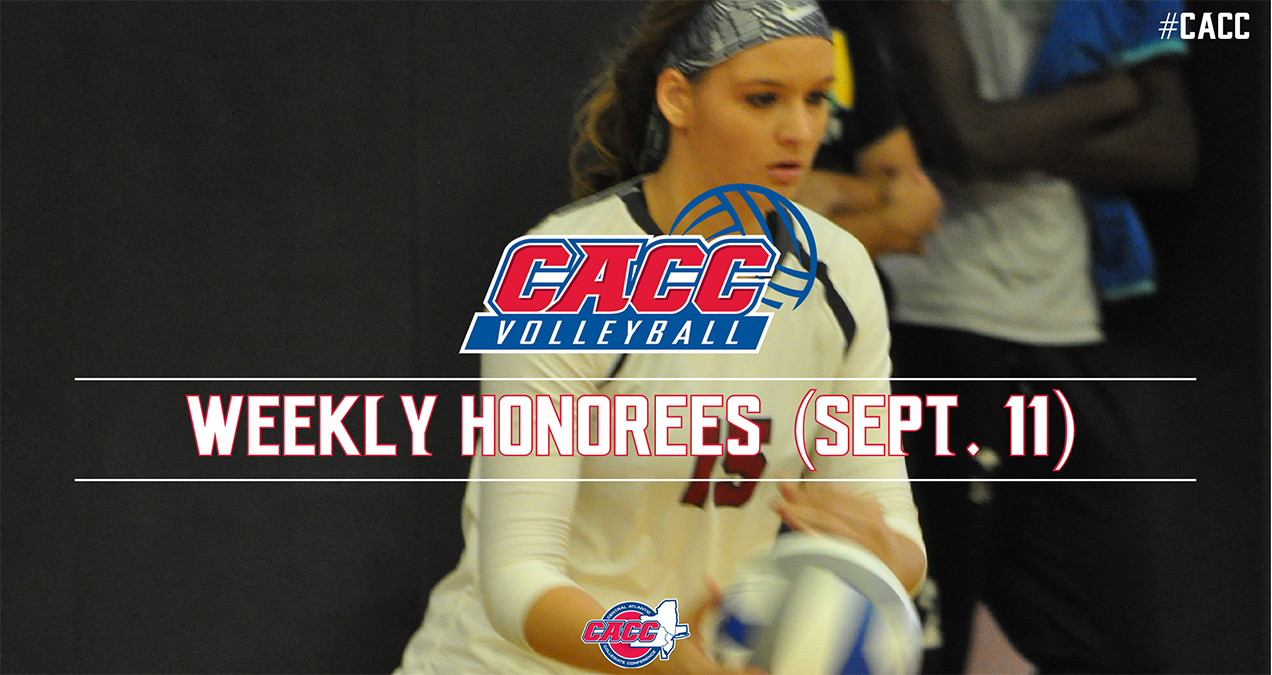 CACC Volleyball Weekly Honorees (Sept. 11)