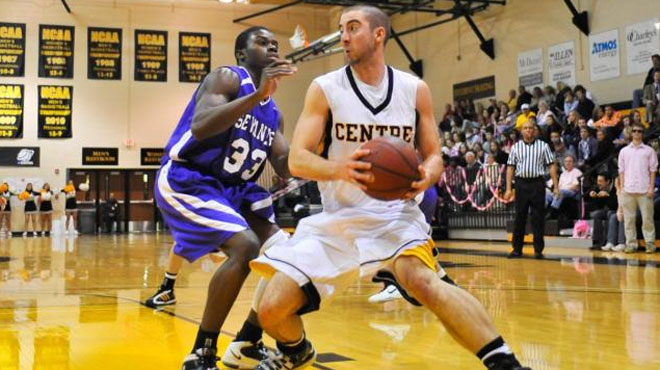 Centre's Ross Named to NABC All-America Team