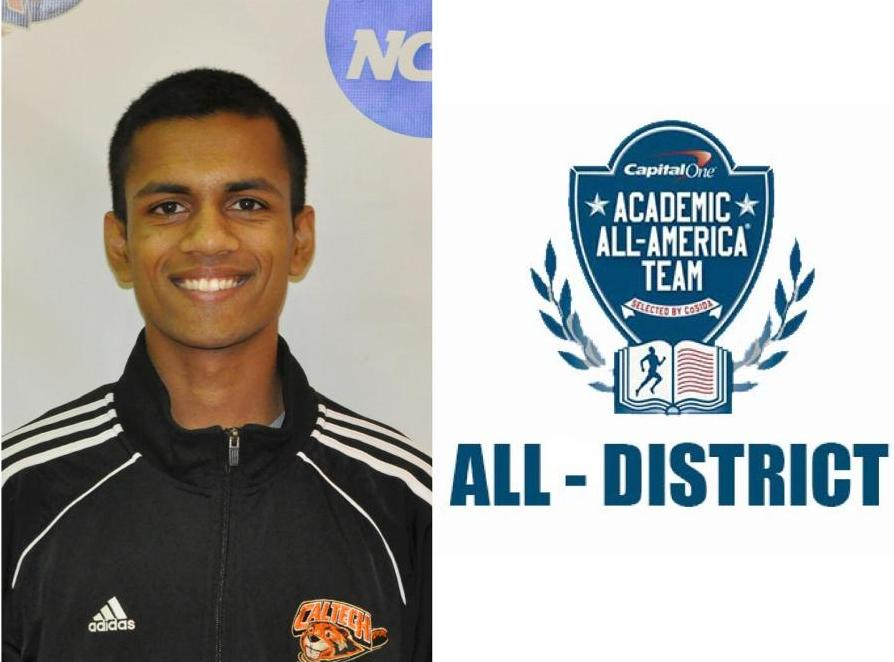 Bhagavathi Named Capital One Academic All-District