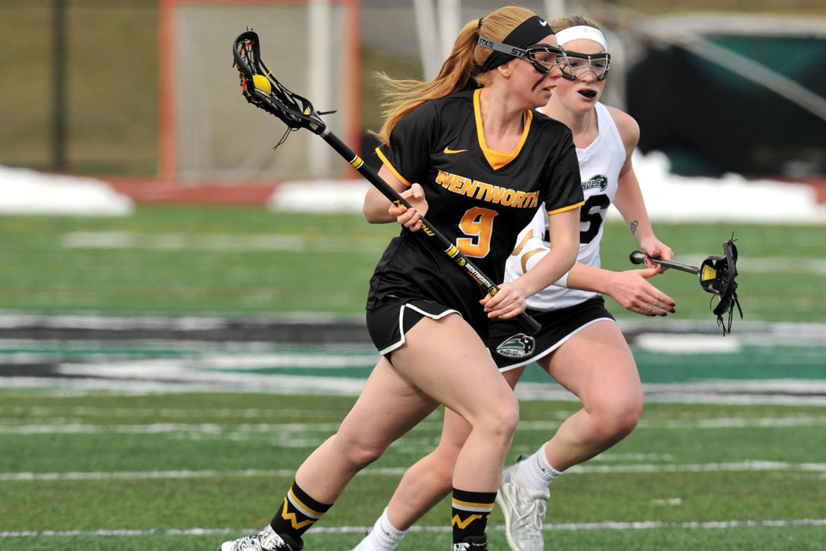 Women's Lacrosse Extends Win Streak with 21-4 Win at Becker