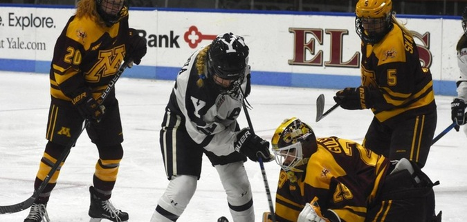Yale falls behind early, fails to comeback against Minnesota