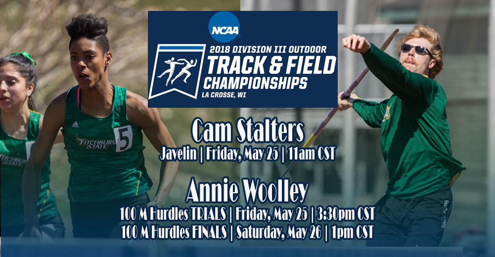 Stalters And Woolley To Compete At 2018 NCAA DIII Outdoor Track & Field National Championships