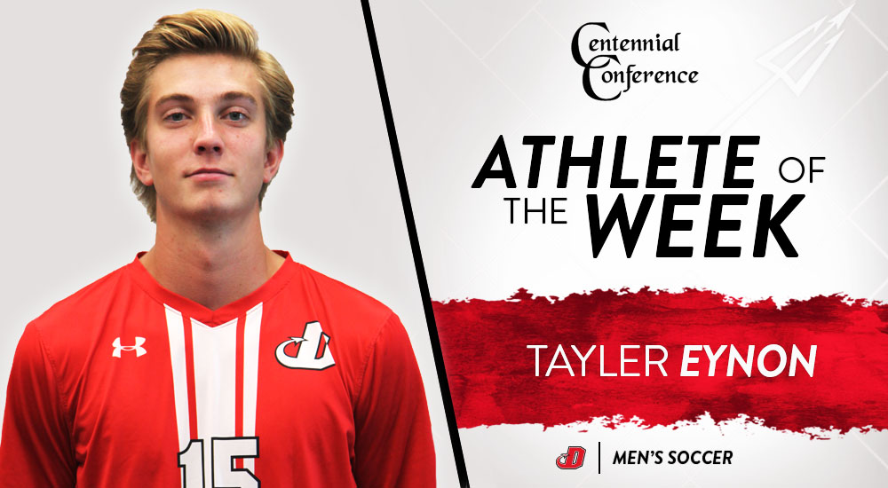 Eynon Named CC Men's Soccer Defensive Player of the Week
