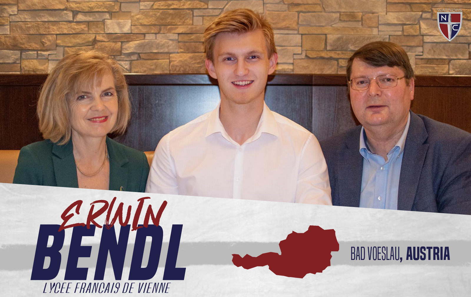 Men's Soccer Adds Erwin Bendl to 2019 Roster