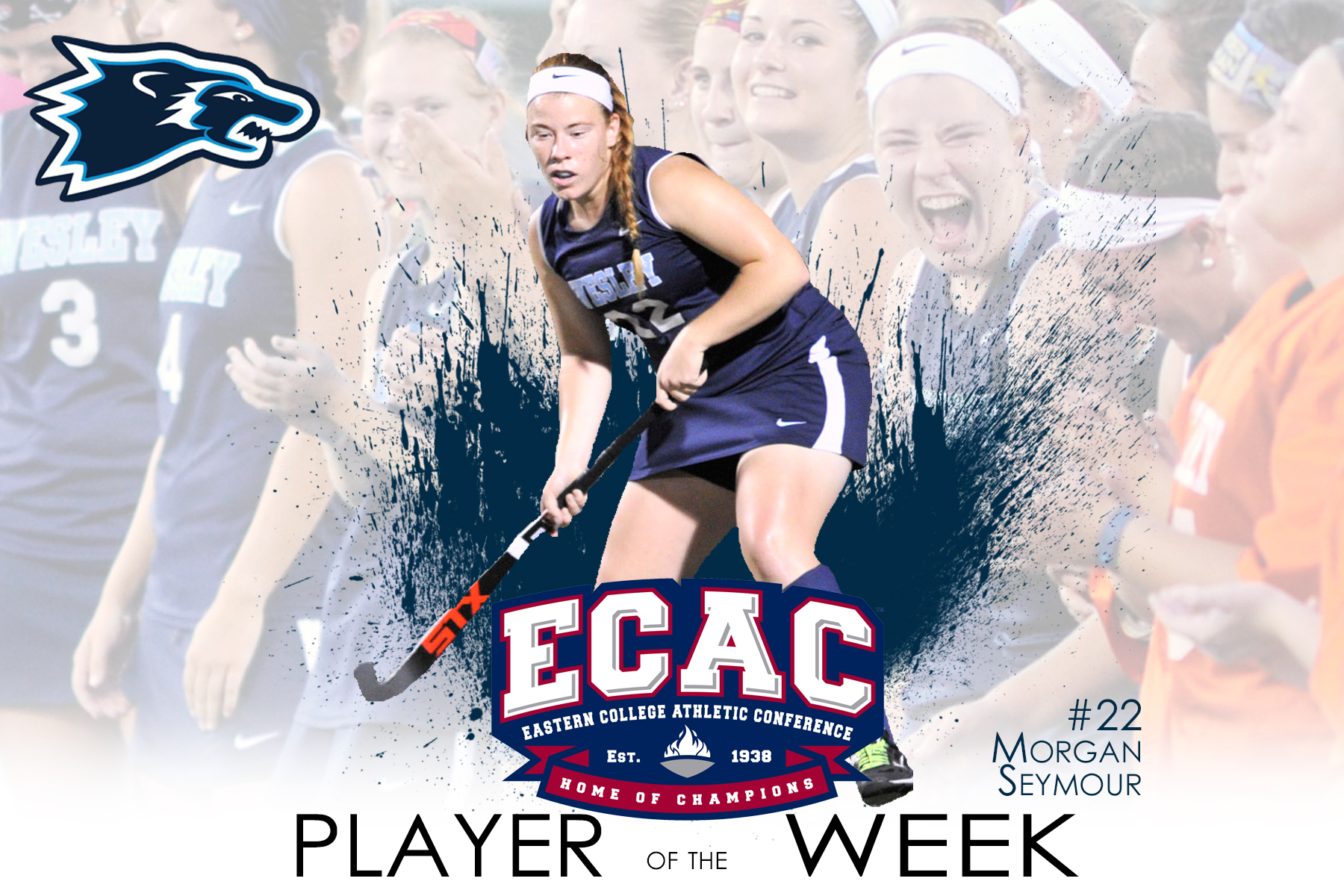 Seymour Earns ECAC Defensive Player of the Week Honors