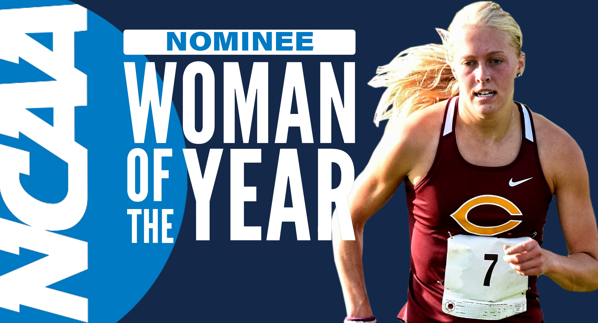 Miriah Forness is Concordia's nominee for the prestigious NCAA Woman of the Year award.