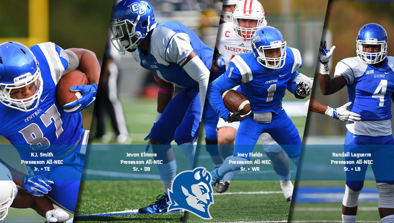 Football Tabbed Fourth in Preseason NEC Poll; Four Earn Preseason Honors