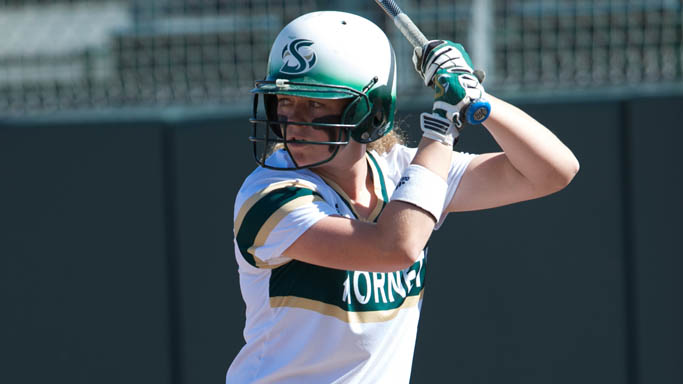 SOFTBALL COMBINES FOR 20 HITS IN DOUBLEHEADER SWEEP OF NORTH DAKOTA
