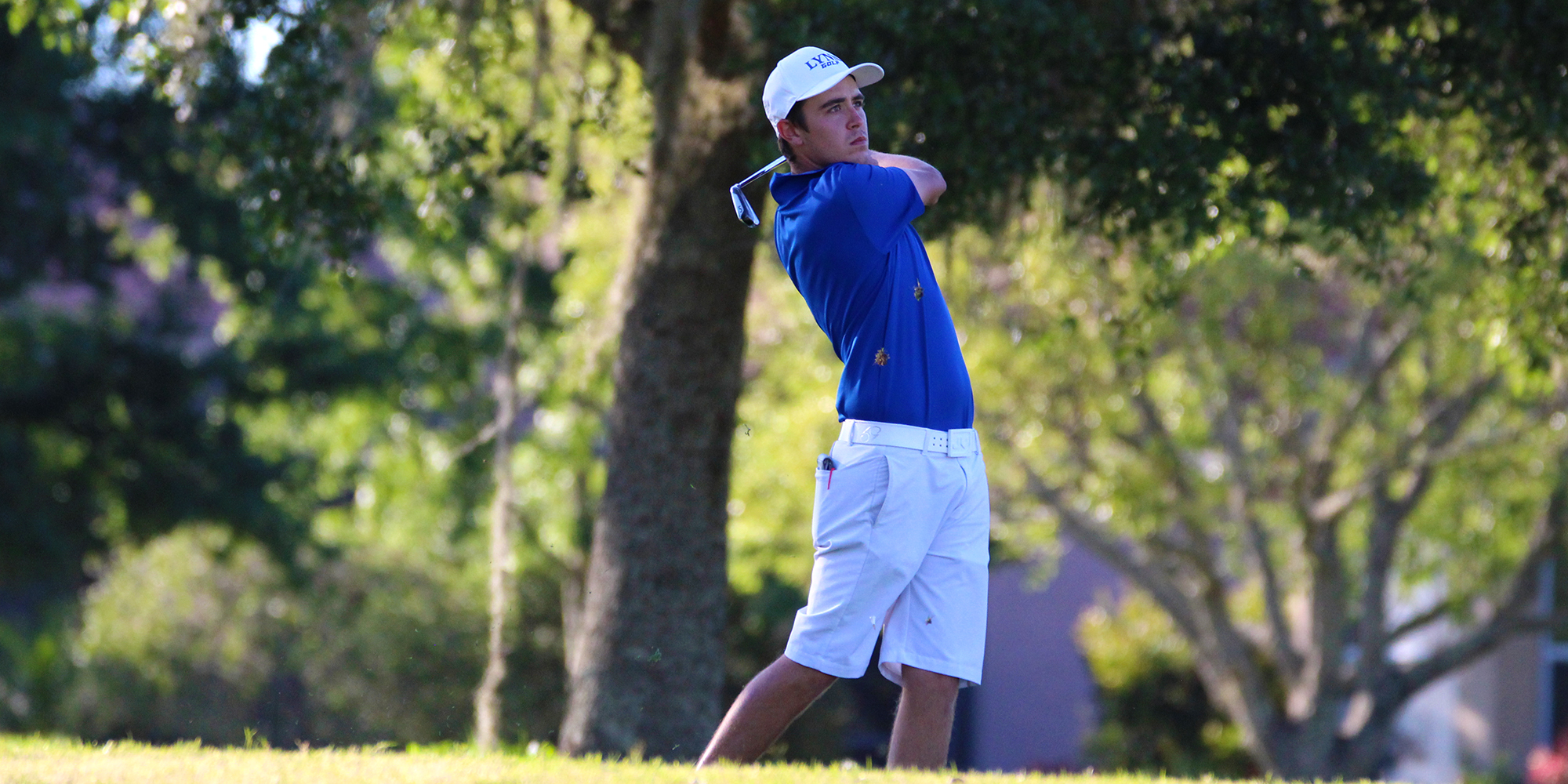 Men's Golf Grabs Share of Lead at NCAA South/Southeast Regional