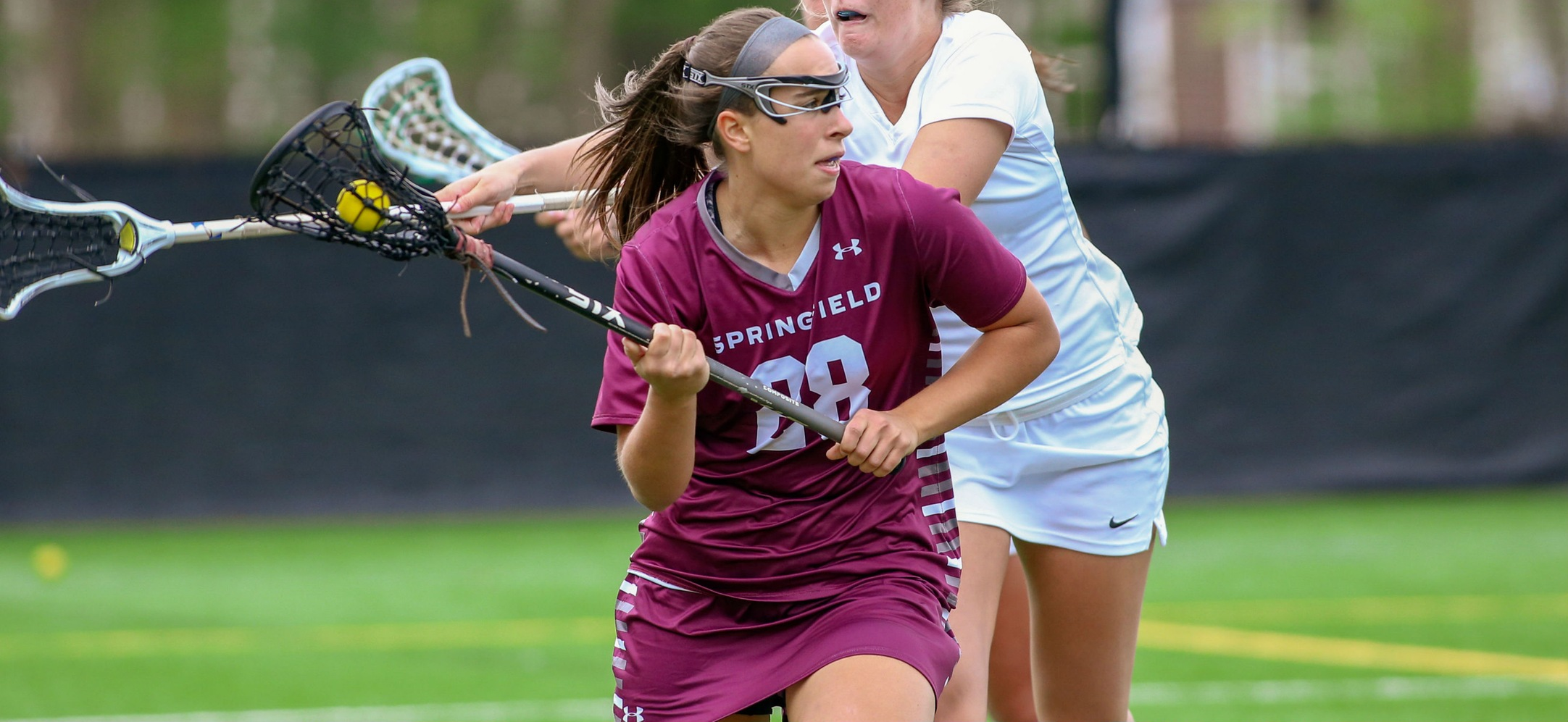 Women's Lacrosse Falls to Babson, 15-13, in NEWMAC Championship Contest