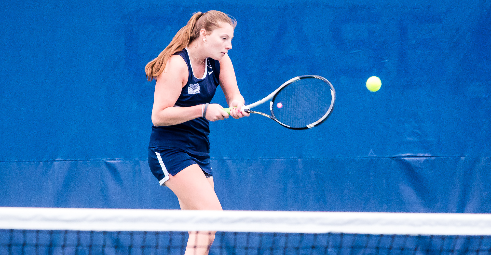 Trerotola Runs Singles Streak to Three as Women's Tennis Downed By Preseason Favorite Farmingdale State