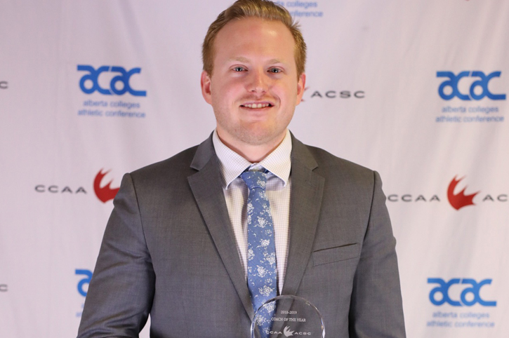Tremonti named CCAA Coach of the Year