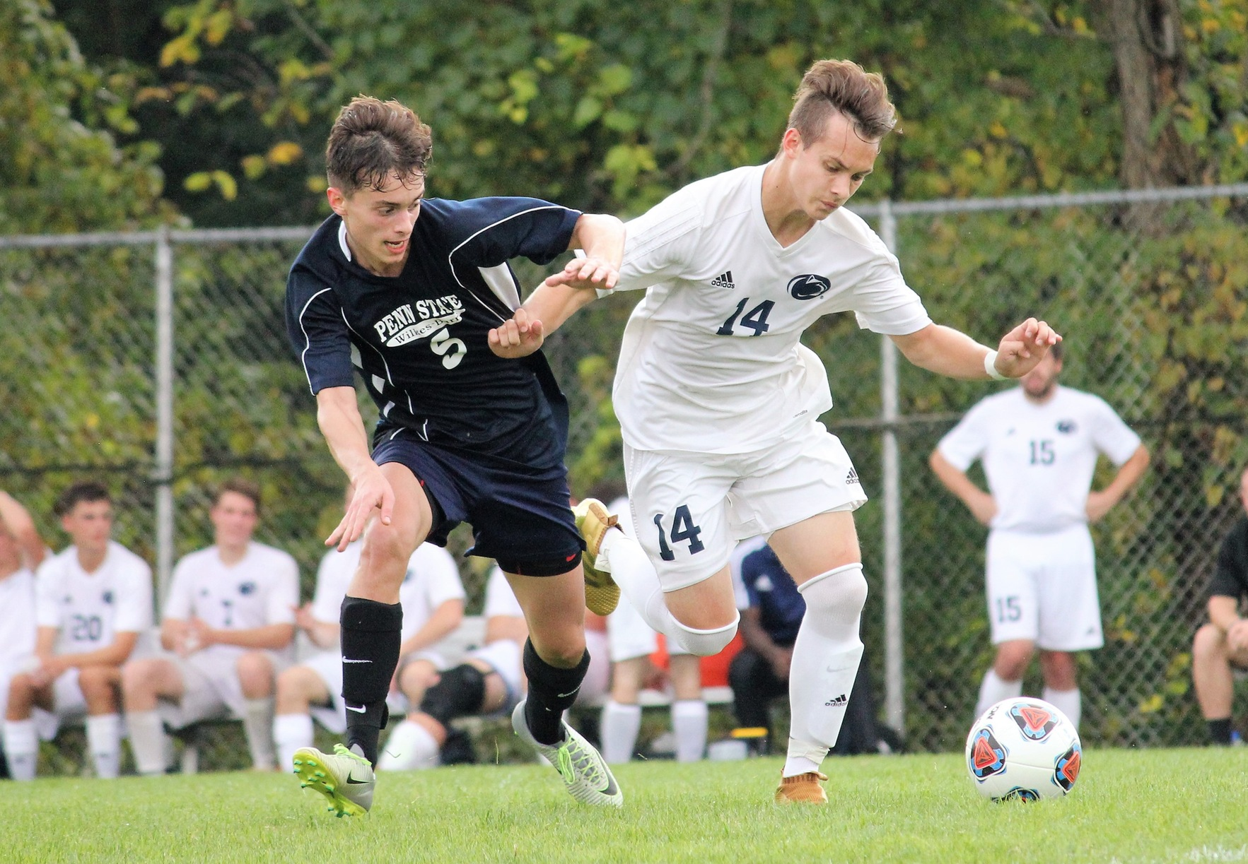 Men's Soccer downs Lehigh Valley, clinches third seed in PSUAC tournament