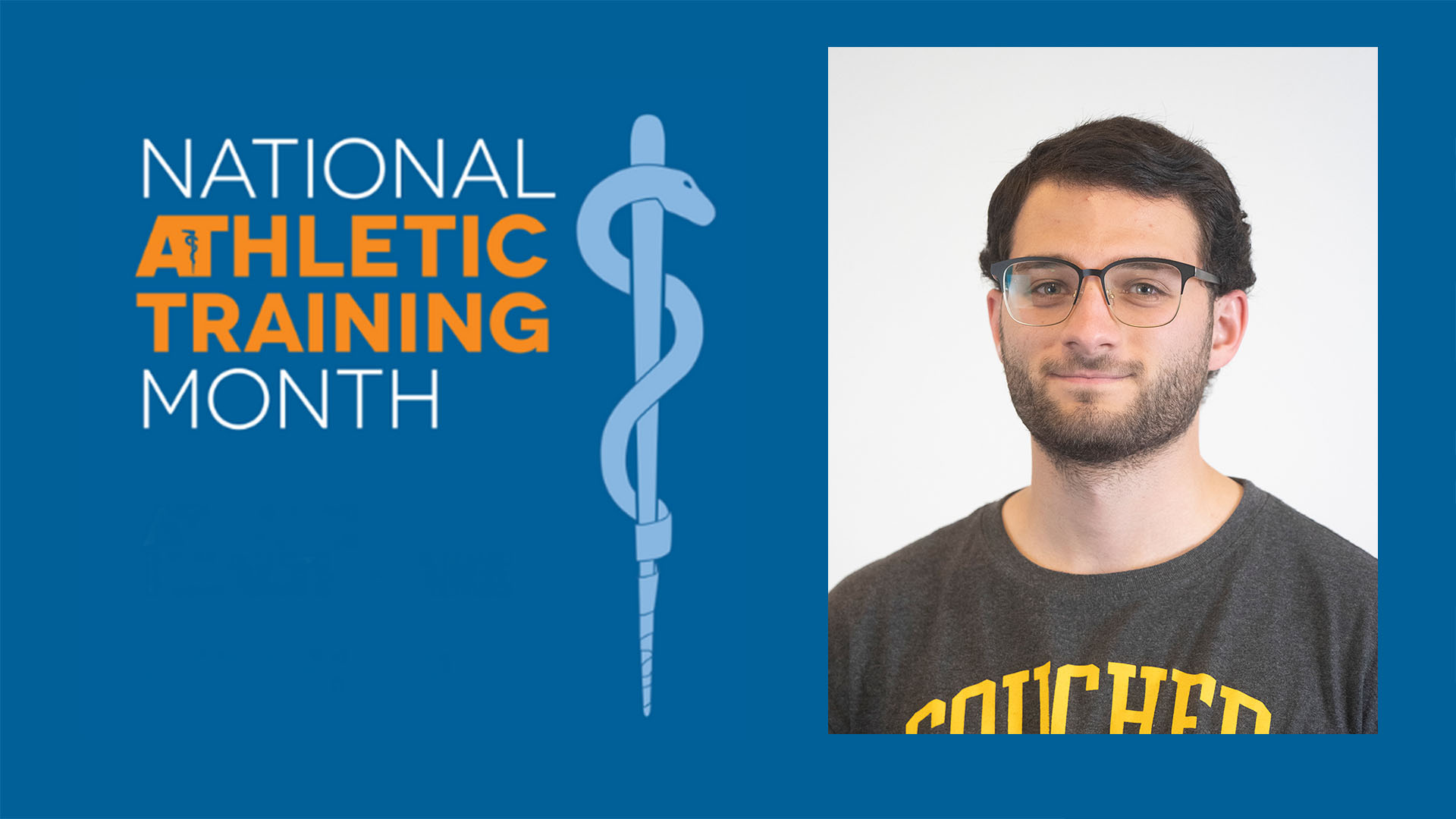 National Athletic Training Month Spotlight at Goucher: Ryan Price