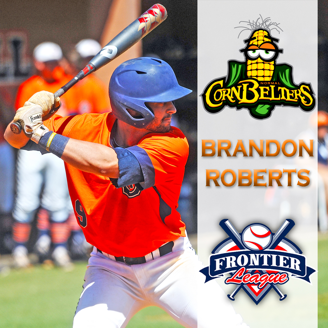 Roberts joins professional ranks signing with Frontier League's Cornbelters