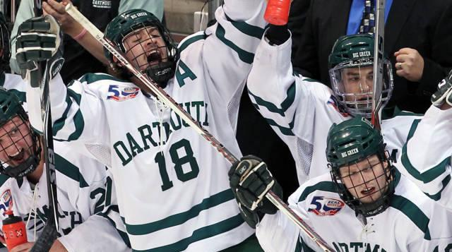 Dartmouth Edges Harvard in Overtime, Lives to Play Another Day