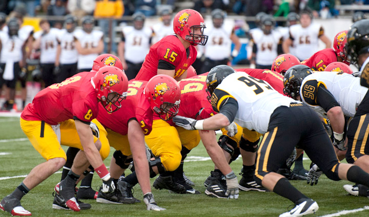 "Ferris State Football ""Crimson & Gold"" Spring Game This Saturday"
