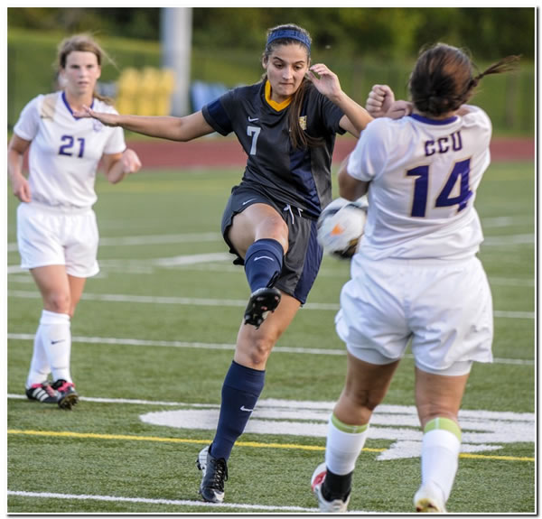 Lions' women's soccer scores a 6-0 victory at Blackburn College