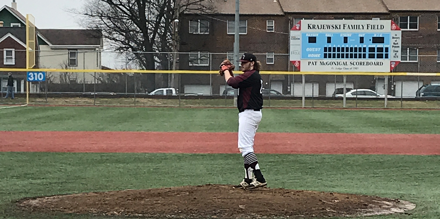 Baseball's Bats Come Alive for Nine Runs Over Final Two Innings in 10-8 Win Over Saint Anselm