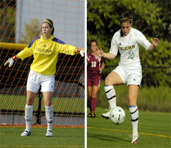 Couzo, Pisani Earn CACC Postseason Honors