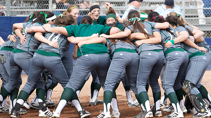 SOFTBALL PLAYS FOUR GAMES OVER THREE DAYS IN SANTA CLARA