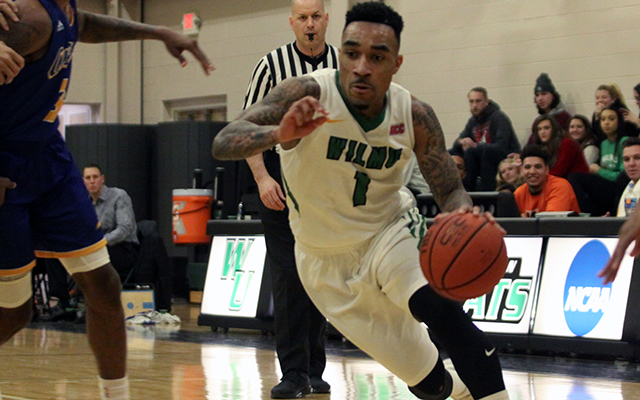 Wilmington Men's Basketball Holds Off Dominican, 68-66, to Snap Three-Game Losing Streak
