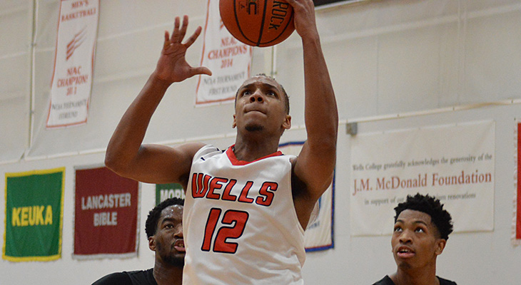 Wells Men's Basketball Falls At SUNY Poly