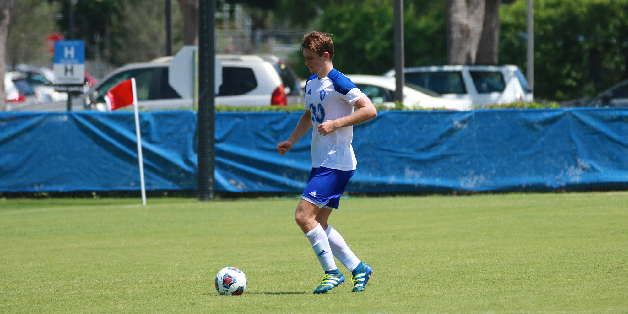 Top-Ranked Men's Soccer Positively Charged-Up in Victory