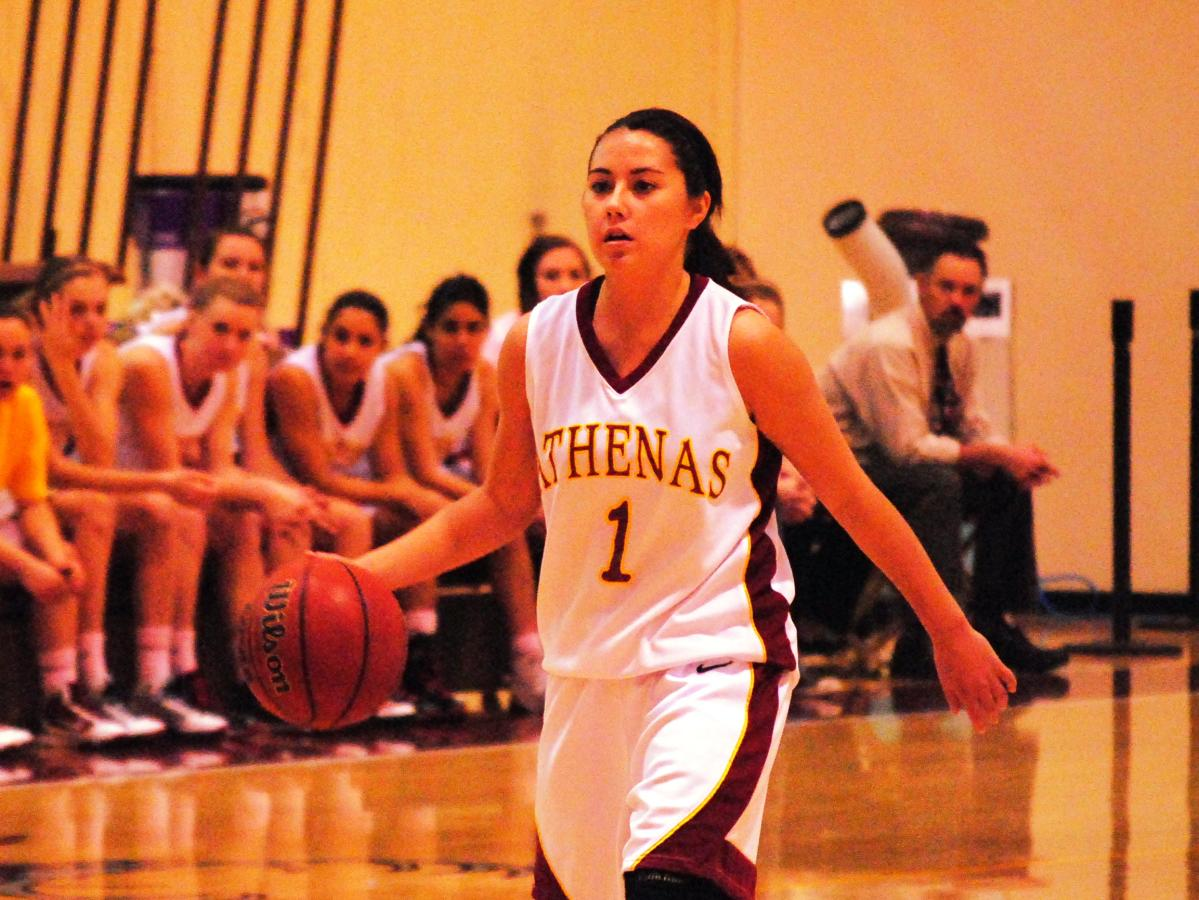 Krumwiede Represents Athenas On All-SCIAC Team