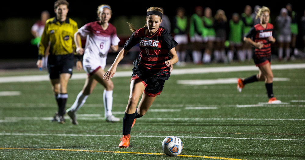 Cardinals Drop Nonconference Match to Lynchburg, 2-1