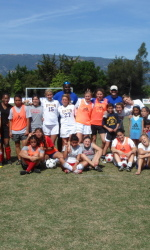 UCSB Connects with Community Through Kids Clinic, Exhibition Match