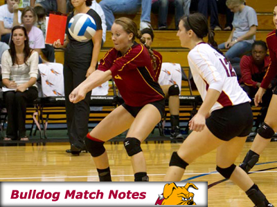 Women's Volleyball Weekly Notes (Matches 13-14)